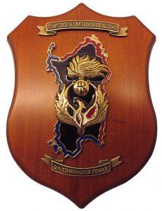 Crest 134° Corso Allievi Iglesias 2^ Compagnia Fenice – Nero