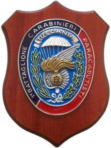 Crest 1° Battaglione Carabinieri Paracadutisti