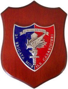 Crest 2° Brigata Mobile Carabinieri