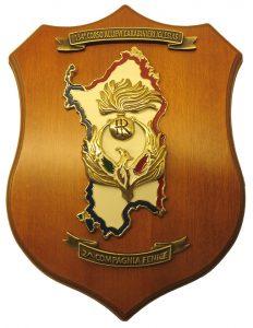 Crest 134° Corso Allievi Iglesias 2^ Compagnia Fenice – Bianco