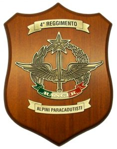 Crest 4° Reggimento Alpini Paracadutisti RANGER