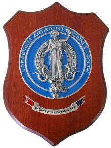 Crest Carabinieri  Antisofisticazione e Sanità