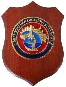 Crest Carabinieri  Investigazioni scientifiche