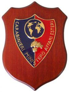 Crest Carabinieri Ministero Affari Esteri