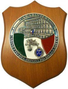 Crest Carabinieri – Gabinetto del Ministro della Difesa