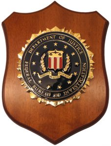 Crest FBI – Federal Bureau of Investigation