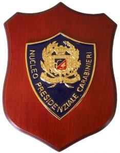 Crest Nucleo Presidenziale Carabinieri