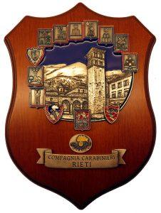 Crest Compagnia Carabinieri Rieti