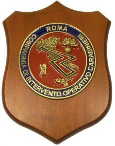 Crest Compagnia di Intervento Operativo Carabinieri Roma