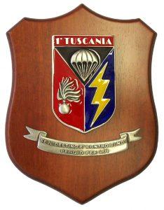Crest TUSCANIA con Motto