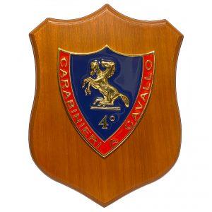 Crest 4° Reggimento Carabinieri a Cavallo
